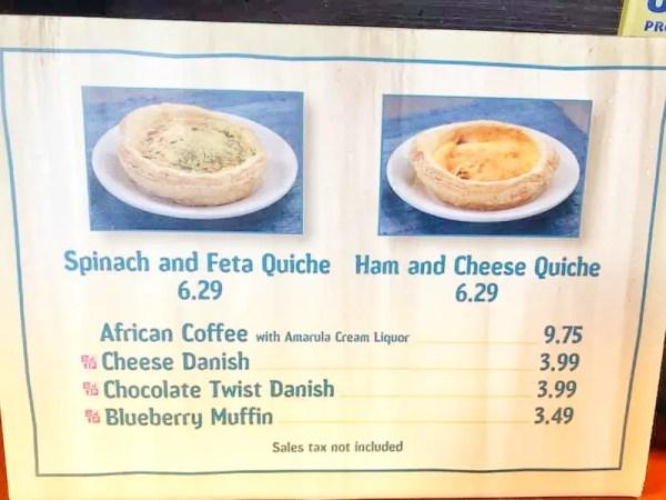 New Breakfast Menu Options at Tamu Tamu Refreshments