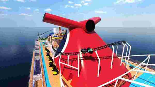 Carnival Cruise Does the Unthinkable: A Roller Coaster On A Ship