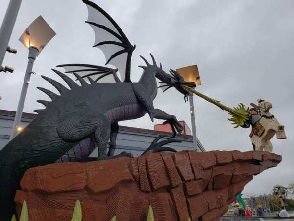 Dragon Lego at Disney Springs