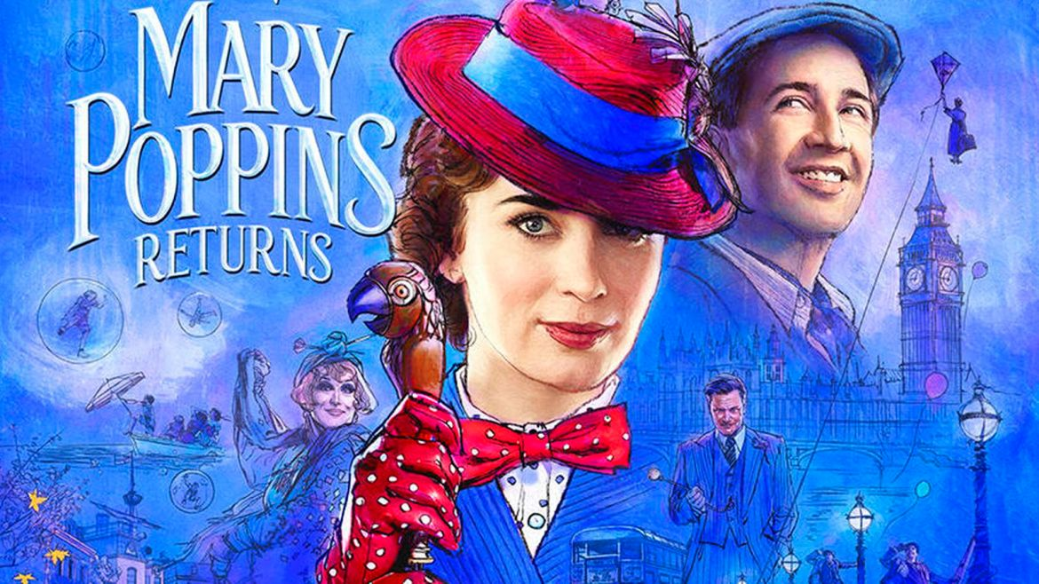 "Sing Us ""A Cover"": Mary Poppins Returns Contest."