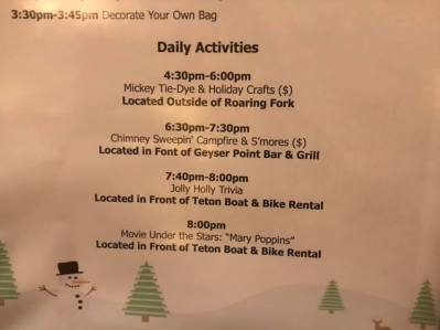 Mary Poppins Day at Wilderness Lodge