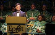 Disney Fanatic John Stamos at Epcot International Festival of the Holidays