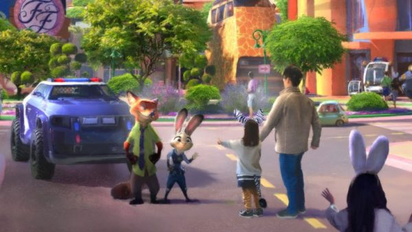 Zootopia-Themed Expansion Headed to Shanghai Disneyland 2