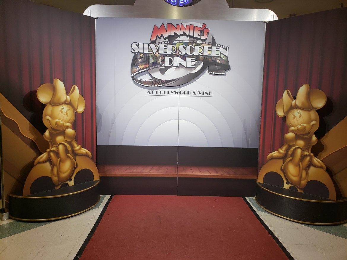 Minnie's Silver Screen Dine Offers Red Carpet Treatment