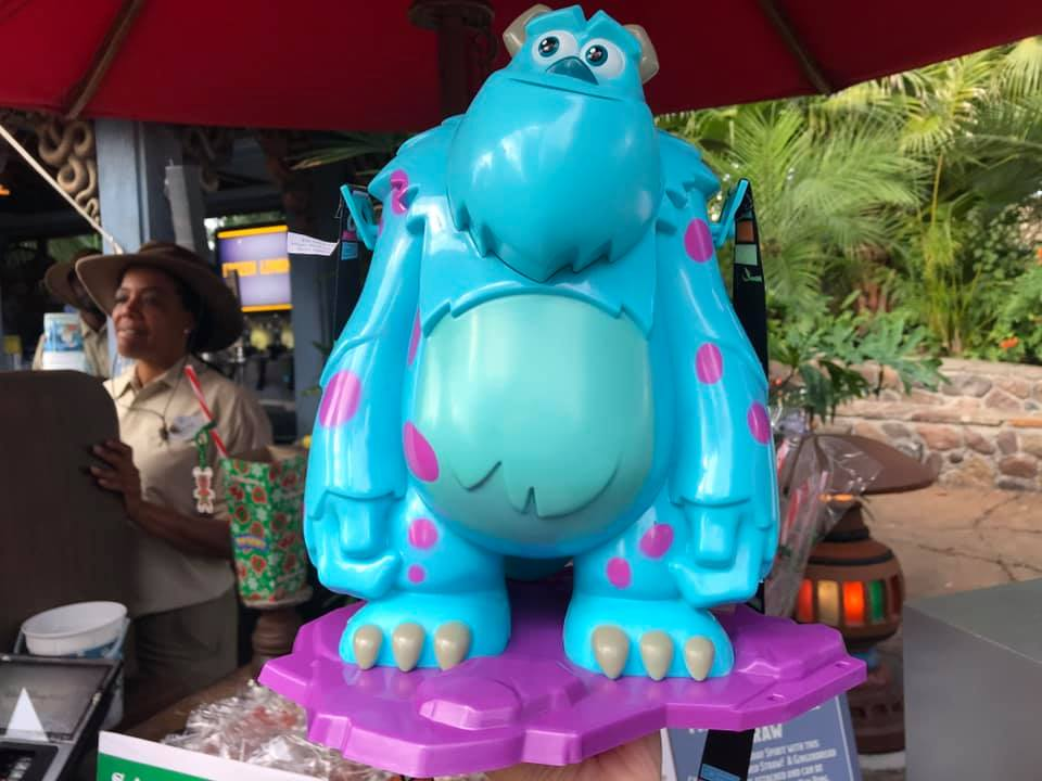 Sulley Premium Popcorn Bucket Spotted at Animal Kingdom