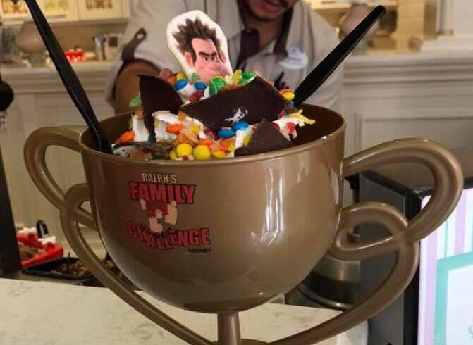 New Limited Edition Vanellope's Ice Cream Sundae