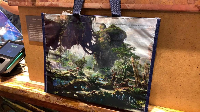 New Pandora Reusable Bags at Animal Kingdom