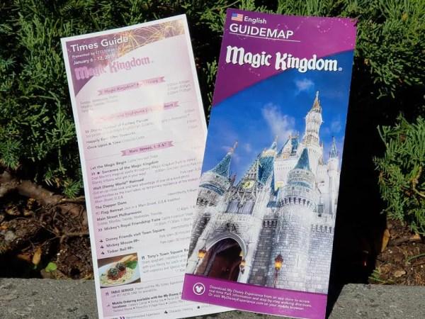 New Post-Holiday Park Maps Arrive at Magic Kingdom