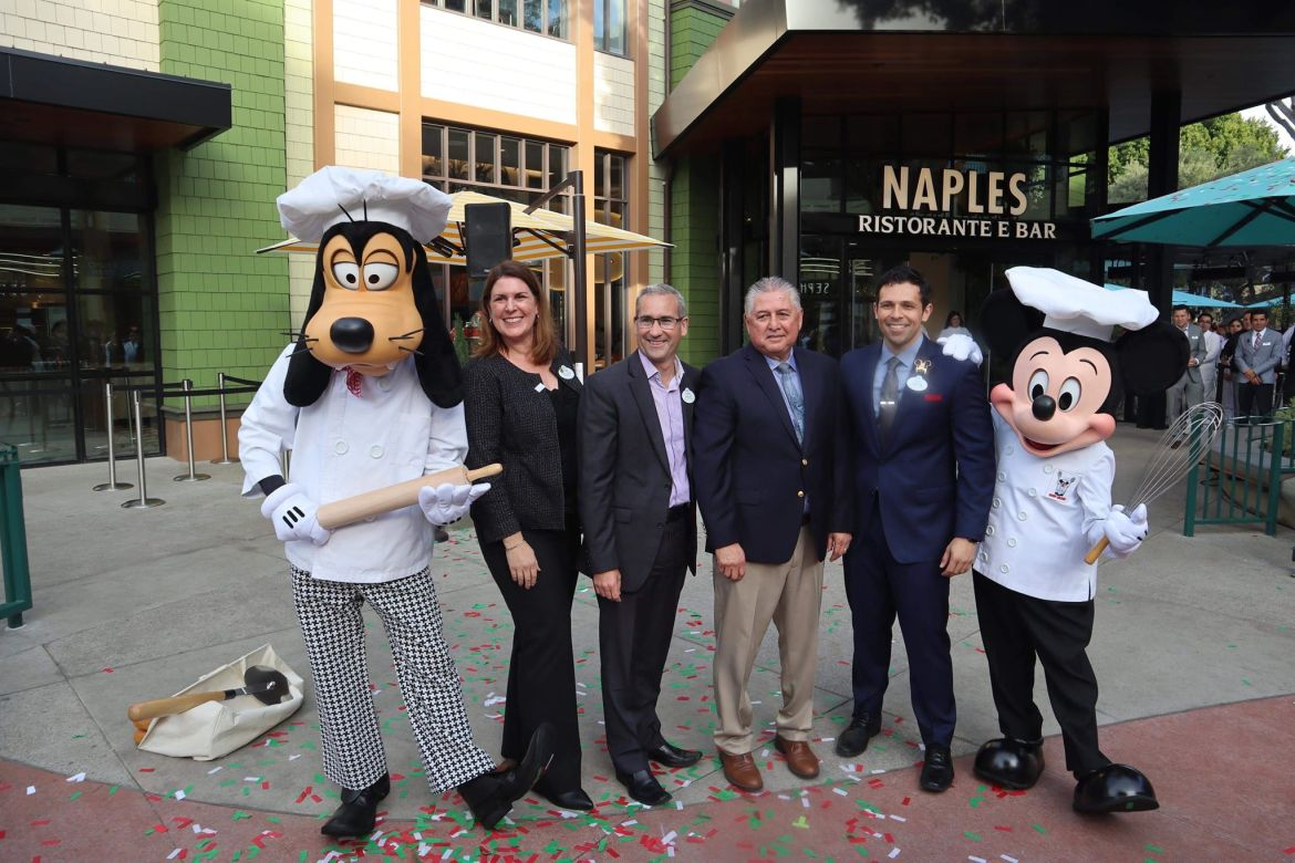 Naples and Napolini Restaurants Had a Relaunch in Downtown Disney!