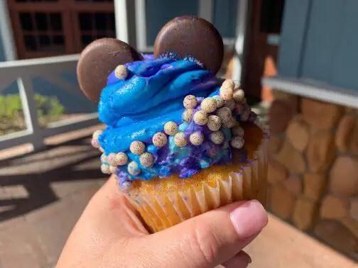 New Purple Potion Cupcake at Port Orleans Riverside!