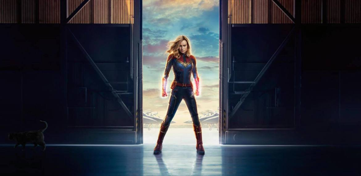 Check Out the New CAPTAIN MARVEL Movie Posters