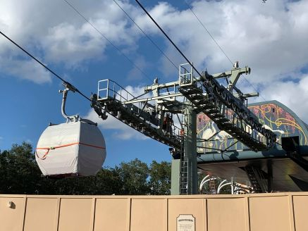 BREAKING NEWS! Disney Skyliner Testing at International Gateway