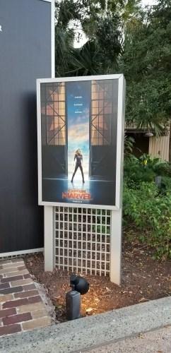 Captain Marvel Backdrop DS