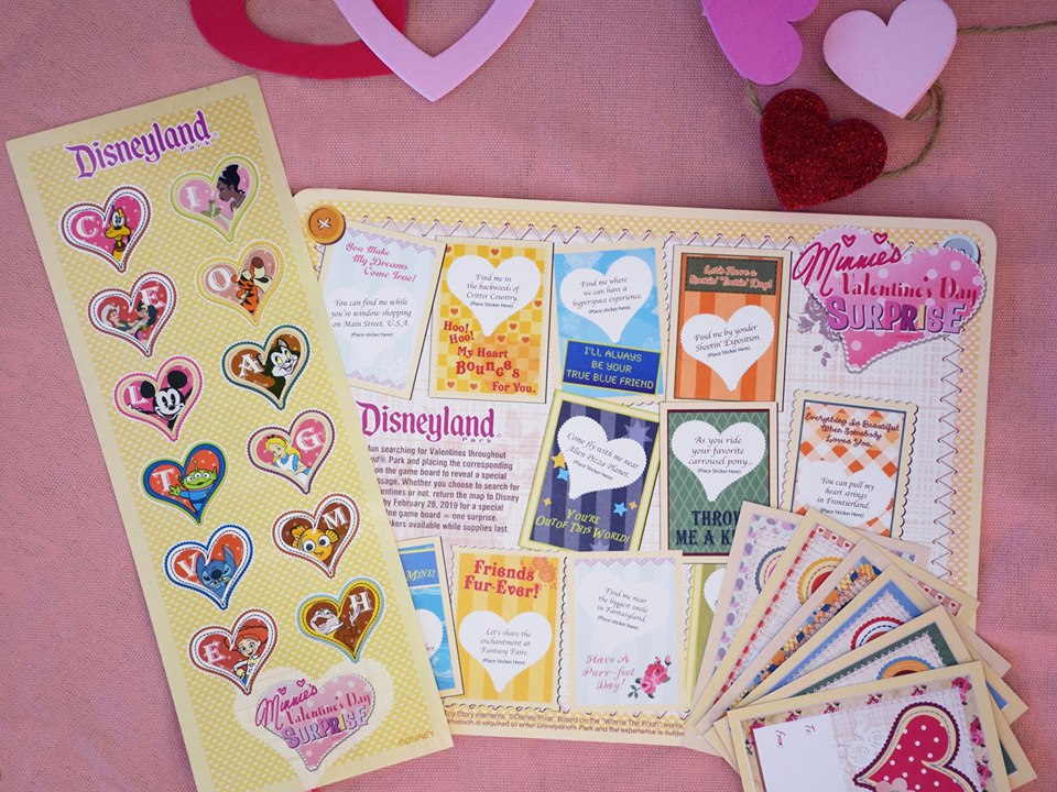 "Play ""Minnie's Valentine's Day Surprise!"" Scavenger Hunt At Disneyland!"