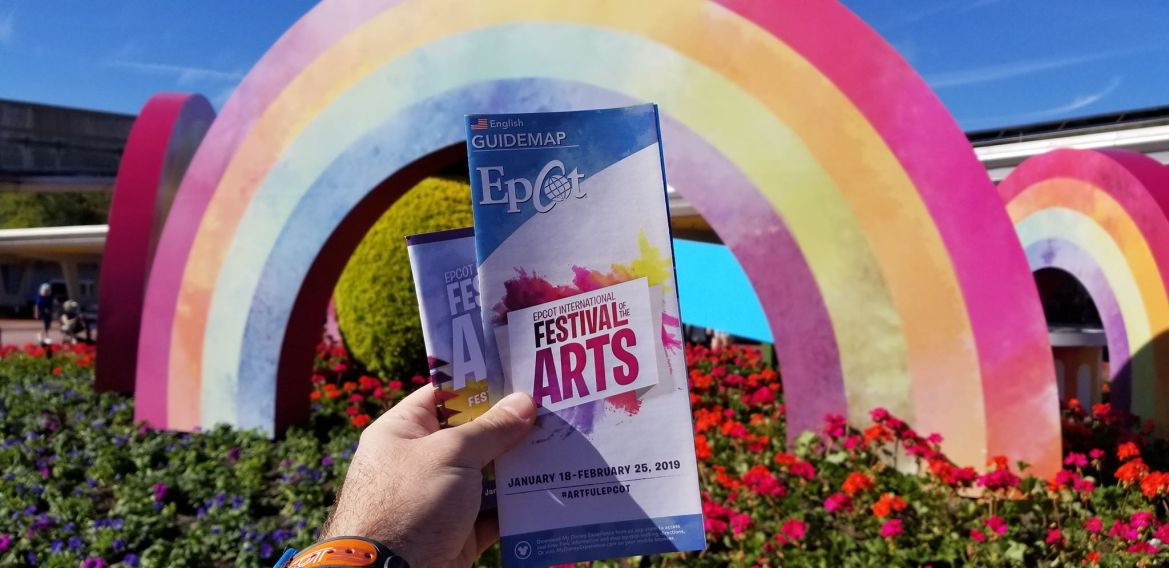 Epcot International Festival of the Arts Map 2019