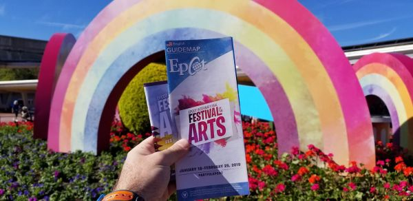Epcot International Festival of the Arts Map 2019 1