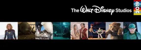 The Official 2019 Walt Disney Studios Film Previews!