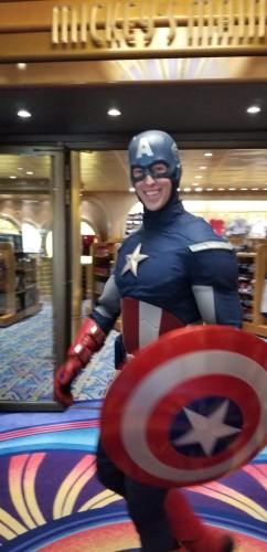 Abundant Number Of Superheroes Spotted At Marvel Day At Sea 1
