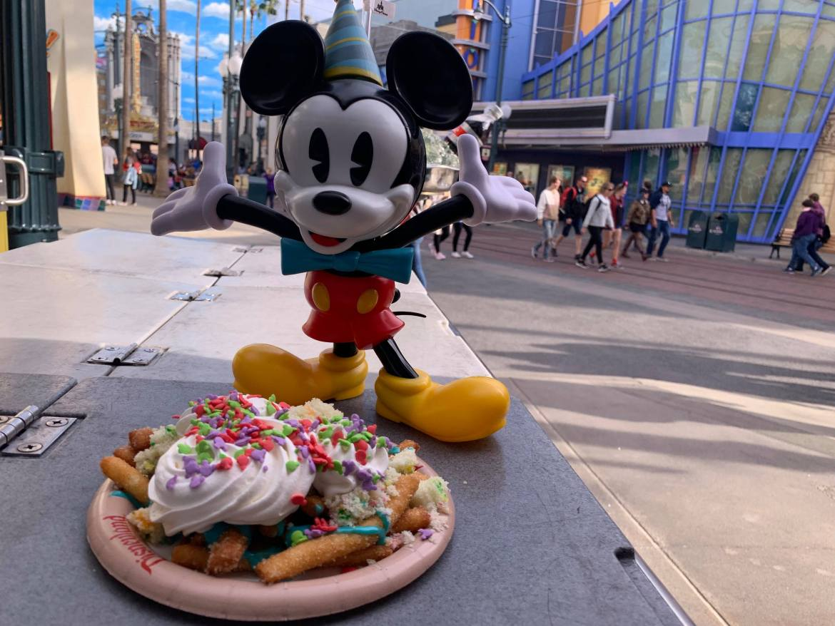 Celebrate Mickey's Anniversary with Funnel Cake Fries