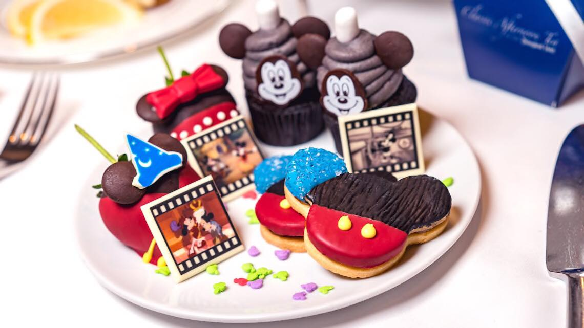 New Mickey Themed Afternoon Tea Party At The Disneyland Hotel