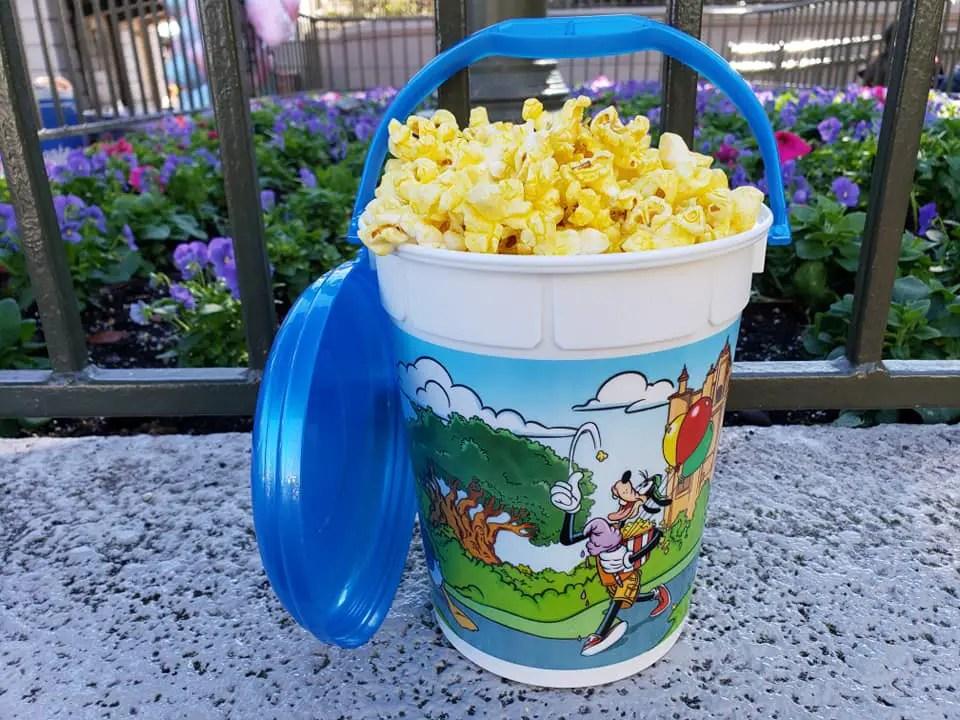 New Refillable Popcorn Bucket Available In Magic Kingdom