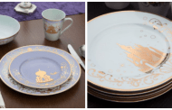 Dine Like Royalty With the Disney Plate Set Featuring Classic Films