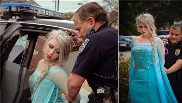 Elsa Was Arrested For Causing Deep Freeze, Again