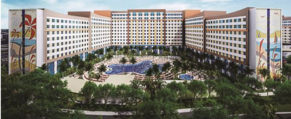 Universal's Endless Summer Resort Dockside Inn And Suites Accepting Reservations