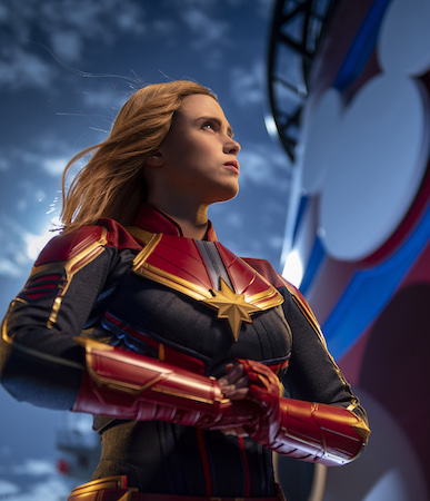 Captain Marvel Lands Aboard Disney Cruise Line 1