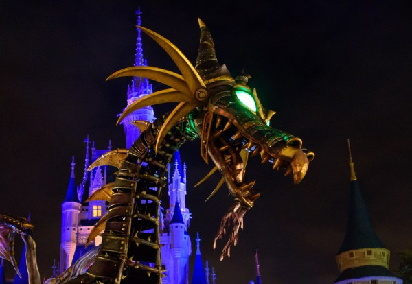 Maleficent Dragon Returns to Festival of Fantasy Parade