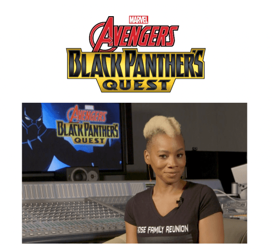 Anika Noni Rose Will Guest Star on Marvel's Avengers: Black Panther'S Quest.