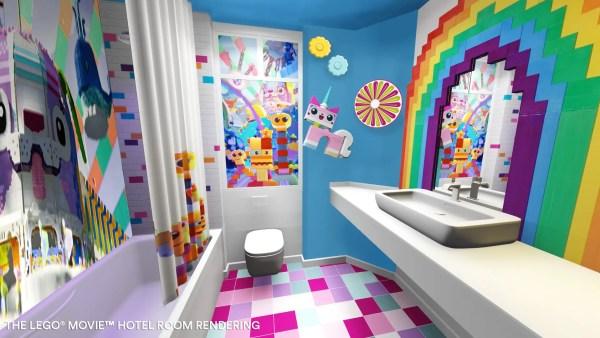 LEGO Movie Rooms LEGOLAND