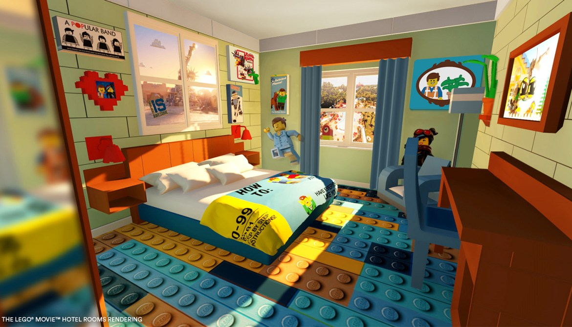 New LEGO MOVIE Rooms at LEGOLAND Florida