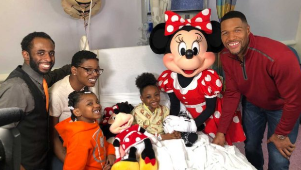 Incredible Surprise for a Life Long Minnie Mouse Fan and Kidney Recipient