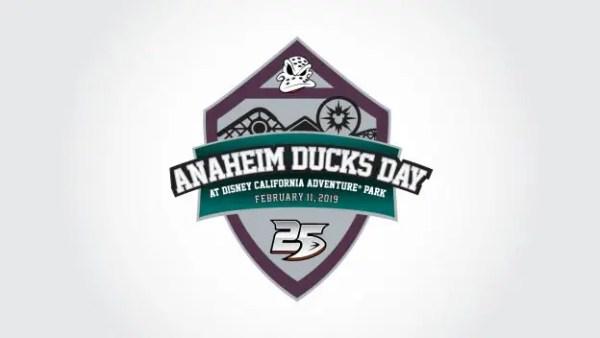Anaheim Ducks Day California Adventure