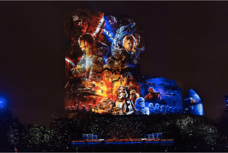 New to Legends of the Force at Disneyland Paris!
