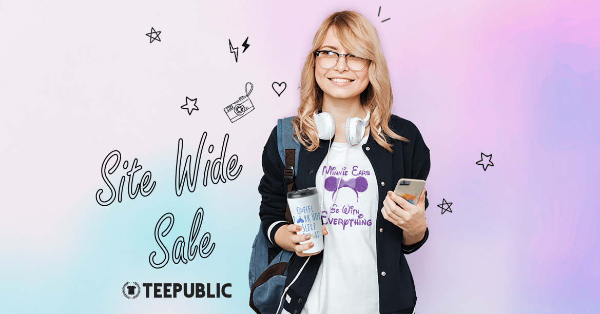 Chip and Co Site Wide TeePublic Sale Has Begun