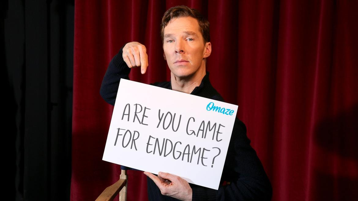 Omaze Gives Chance to Meet Benedict Cumberbatch and See Avengers: Endgame