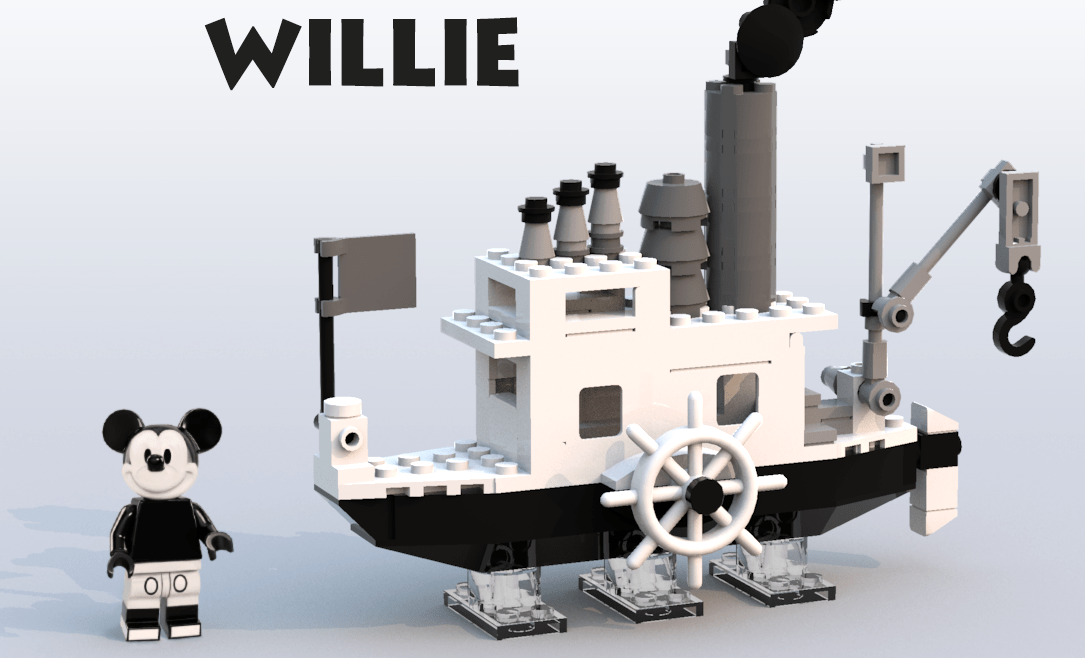 LEGO Is Making A Steamboat Willie Set