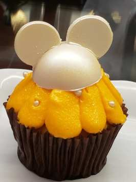 Orange Cream Cupcake Available at Contempo Cafe