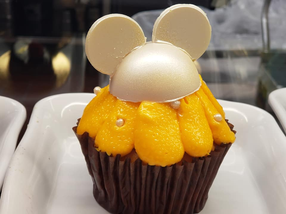 Orange Cream Cupcake Available at Contempo Cafe