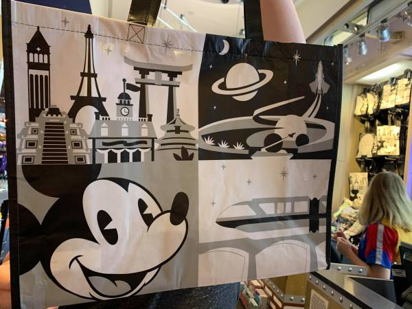 Epcot Reusable Shopping Bags Now Available