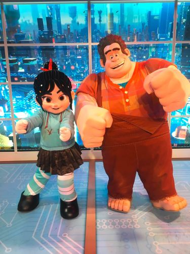 Wreck-it Ralph and Vanellope Debut in Imagination Pavilion at Epcot 1