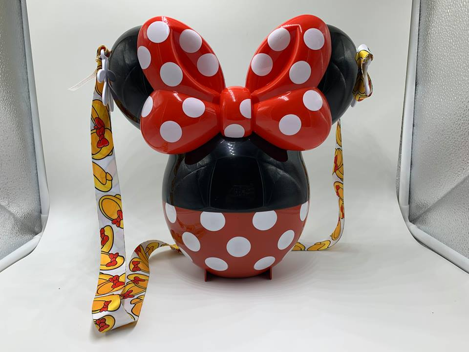 Minnie Mouse Balloon Popcorn Bucket Is Polka Dotted Perfection