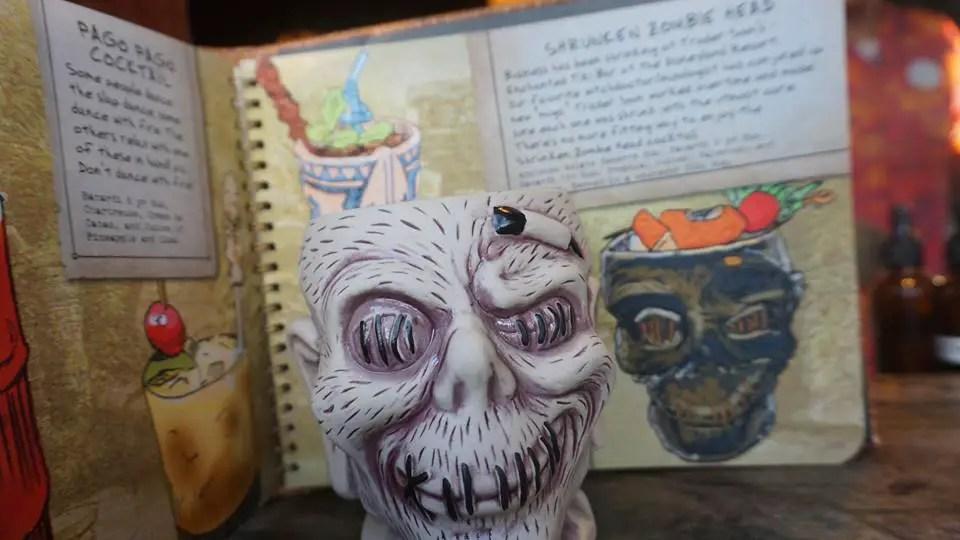 New Tiki Mugs and Drinks Arrive At Trader Sam's Enchanted Tiki Bar