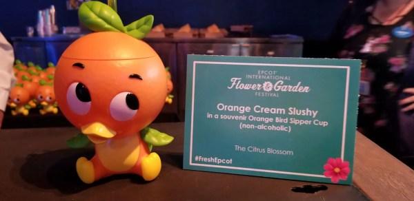 New Orange Bird Sipper With Orange Cream Slushy 1