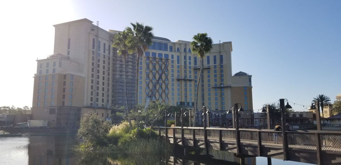 Update: Disney's Coronado Springs Resort Construction