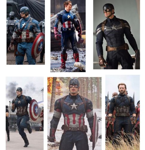 Insight on the Costume Evolution of the Marvel Cinematic Universe 2
