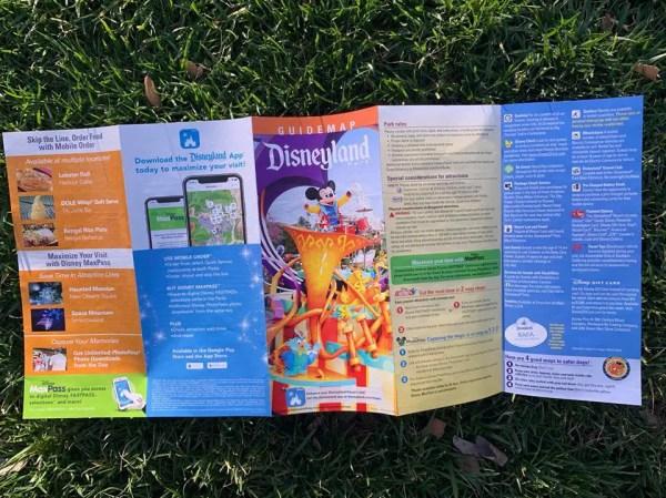 New Celebration Inspired Disneyland Parks Maps Available 4