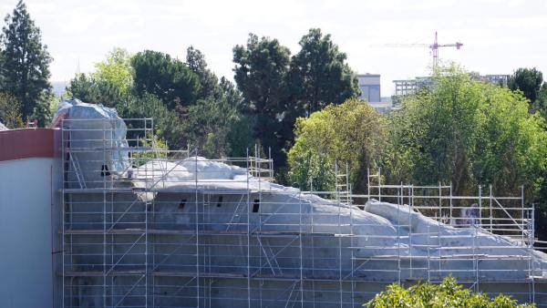 Star Wars: Galaxy's Edge is Really Starting to Take Shape at Disneyland 3
